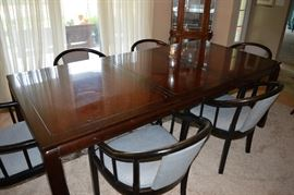 John Widdicomb Table and Century Chairs