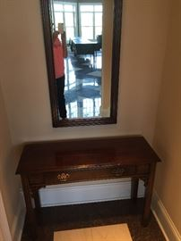 Entry table with mirror $90 set