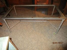 Industrial mid century coffee table