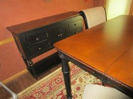 Buffet and Matching Dining Table