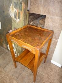 Penny topped table