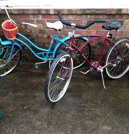 2 Antique Bicycles