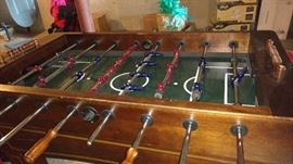 Harvard Wood foosball table