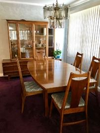 Mid-Century Modern Dining Set by Young Manufacturing