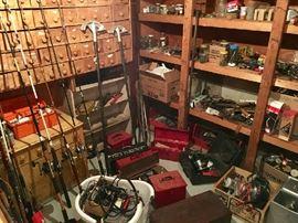 A treasure trove of TOOLS & Hardware Galore!