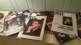 Life Magazines from 60s and 70s