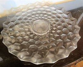 American Fostoria Platter