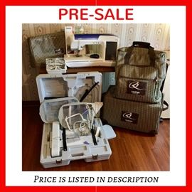 Available for PRE-SALE - $4,000 Brother Quattro Innovis 6000D embroidery machine, Disney edition, with accessories.