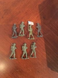 Antique soldiers