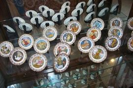 Brimm Fairy tale tiny plates - complete series