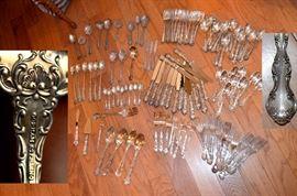 Gorham Strasbourg Sterling Silver Flatware (118 pieces)