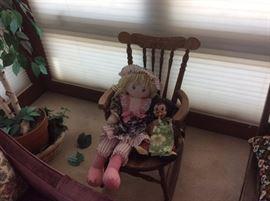 Vinage rocking chair