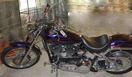 Harley Davison MC Custom Cycle 34,740 miles, beautiful motorcycle