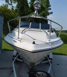 Sea Ray Cuddy Cabin Boat front