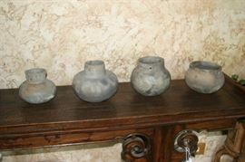 Indian Artifacts (Clay Pots)