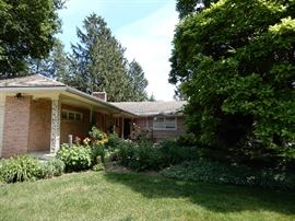 A VERY ATTRACTIVE MID CENTURY HOME THAT WILL BE UP FOR SALE SOON.
