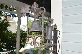 MacKenzie-Childs Mrs. Powers Forged Iron Dinner & Door Bell