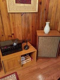 One of many vintage speakers.
