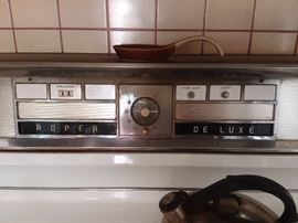 Roper De Luxe Gas Stove Oven