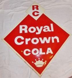 54H x 51W Royal Crown Advertising Sign