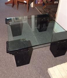 Italian Marble Table Mid Century Modern