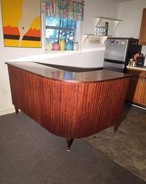 RARE Tiki Bar Mid Century Modern