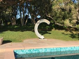 Jeff Laudenslager sculpture.