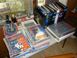 Sports cards and Books