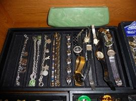 BRACELETS AND WATCHES