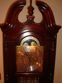 Howard Miller Grandfather Clock (detail)