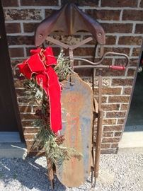 "Antique ""Comet"" Sled"
