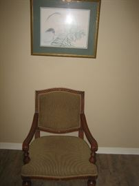 Wonderful Plantation style chair.