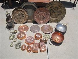 Copper and brassware