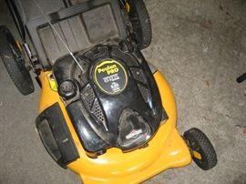 Poulan push mower,