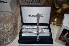 Knives in marshall Fields box