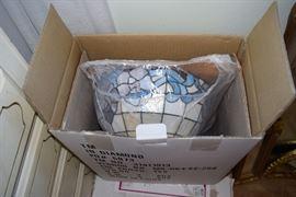 tiffany style lamp shades in box