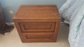 Bedside table - $20