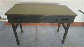 3 drawer desk - $50
