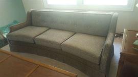 Check sofa - $75