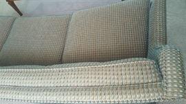 Checked sofa -   $75