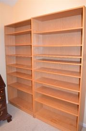 Book shelves (tall, 7ft)