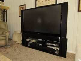 Large Screen Toshiba Television and electronics