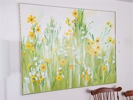 """Large """"retro"""" piece matches brilliantly with Yellow Fr/Prov furnishings....many pieces more photos coming"""