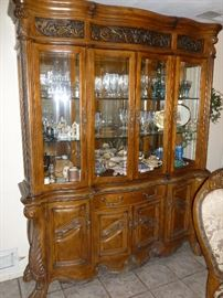 Designer Style China Display Cabinet