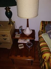 One of 2 MCM Lane Side Tables