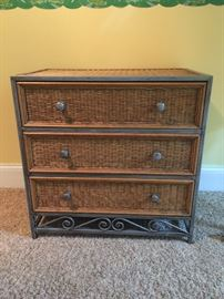 Wicker chest purchased from Pier 1