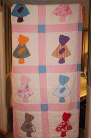 Bonnet Girl Quilt