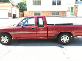 1994 Toyota Pickup Truck, Super-cab - Super Clean and only 97,800 Miles!