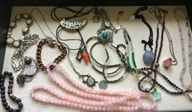 Jewelry-  Much more will be at the sale.