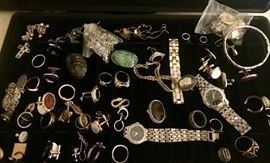 One of several jewelry cases.